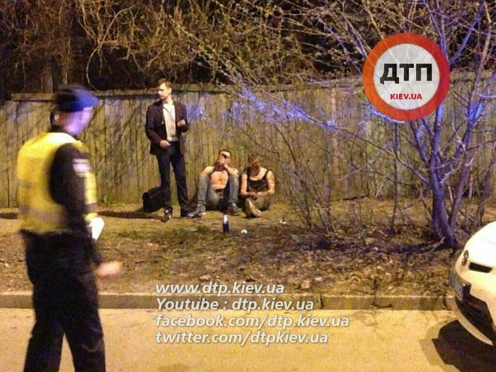 П'яна ДТП у Києві: поліцейським довелося стріляти