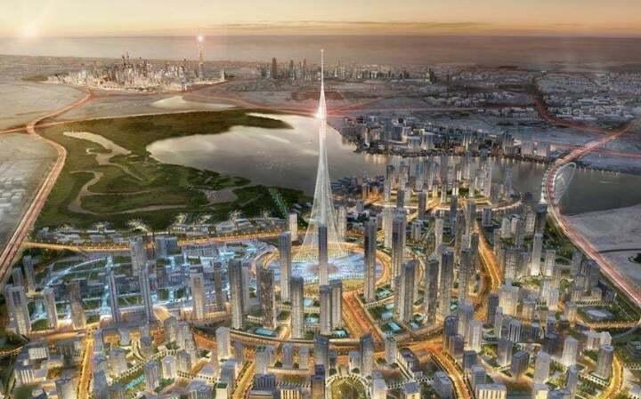 Самый высокий небоскреб в мире построят в Дубае