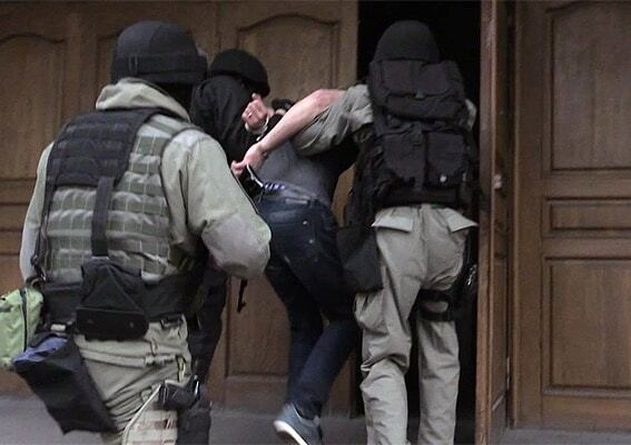 У Києві затримали кілера з Росії: опубліковано фото і відео