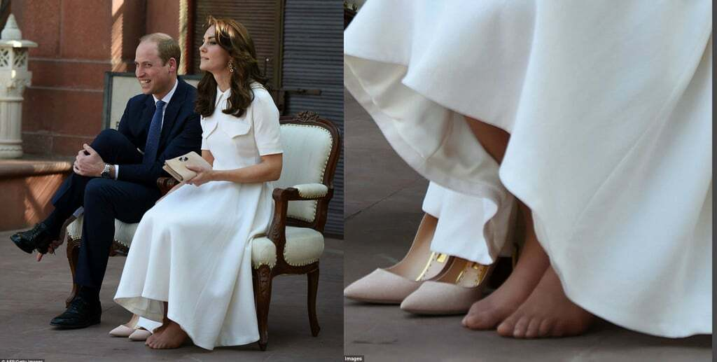 Мозоли, когтистые пальцы и плоскостопие: врачи оценили ноги Кейт Миддлтон