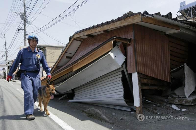 В Японии произошло мощное землетрясение: есть погибшие, десятки пострадавших