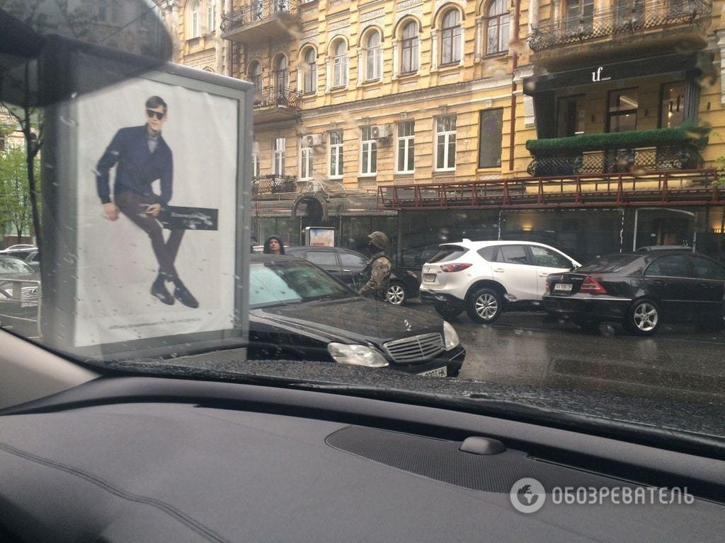 У Києві затримали кримінального авторитета: опубліковано ексклюзивні фото та відео