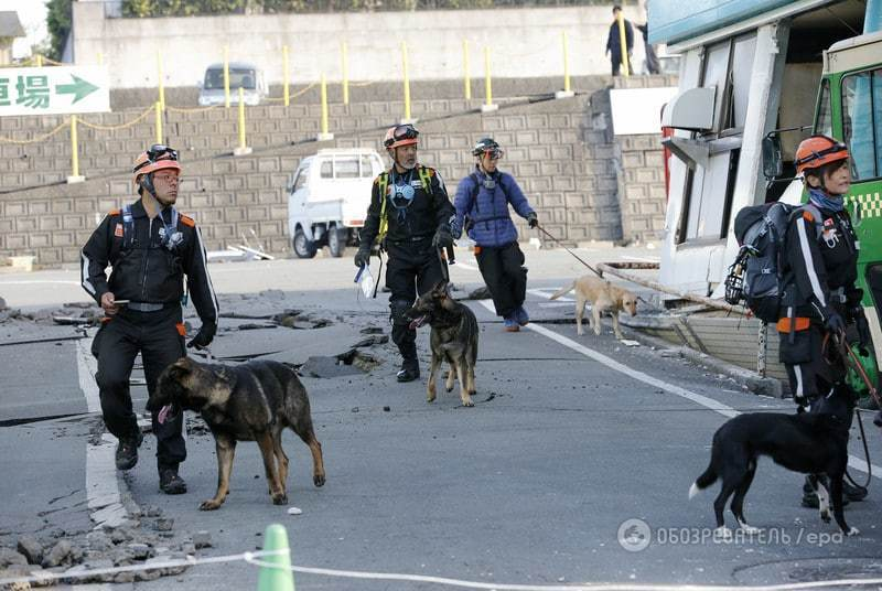 В зоне землетрясений в Японии были украинцы - МИД