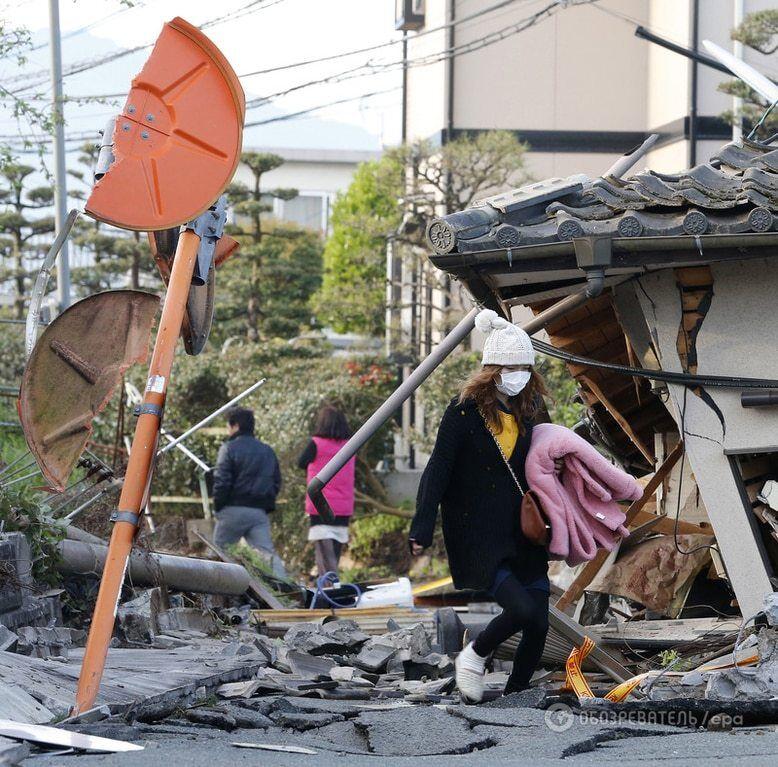 Землетрус в Японії: кількість жертв зросла, постраждалих уже більше 1000