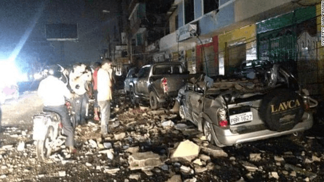 В Эквадоре произошло мощное землетрясение: десятки жертв