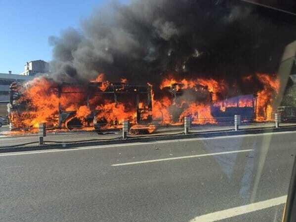 У центрі Стамбула вибухнув автобус
