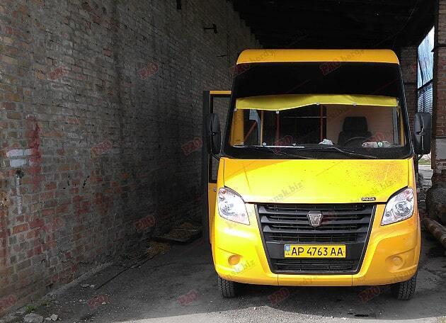 У Бердянську намагалися підірвати пасажирський автобус: фото і відео НП