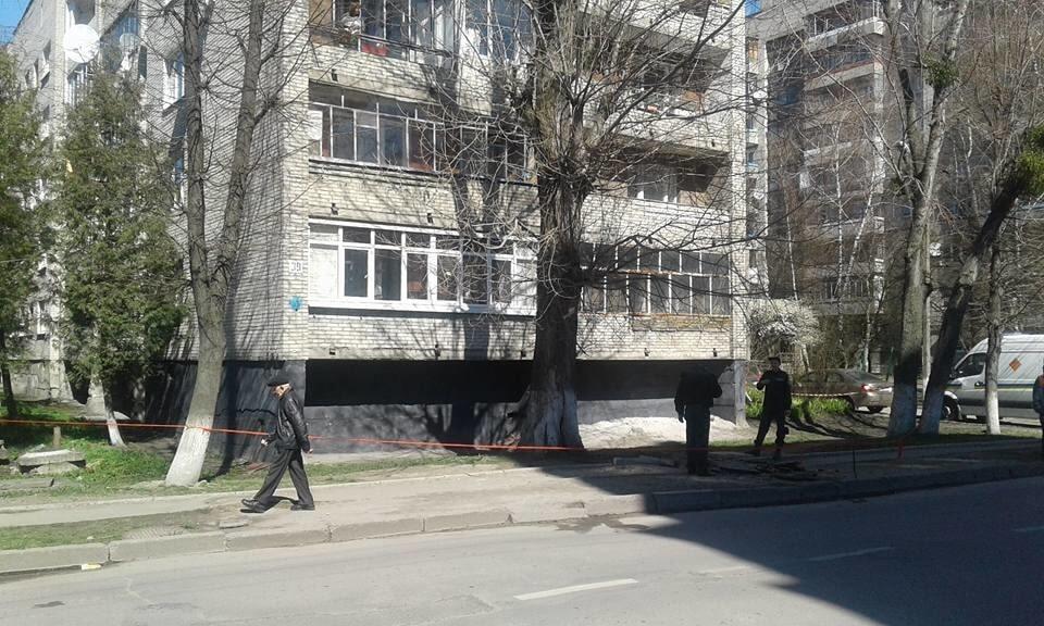 У Львові стався підземний вибух: опубліковані фото