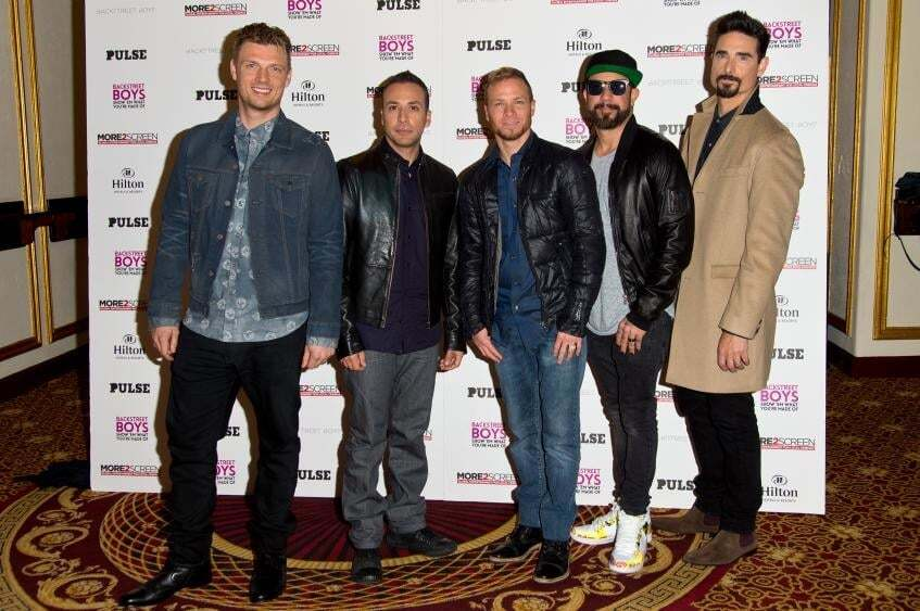 Солист группы Backstreet Boys впервые стал отцом