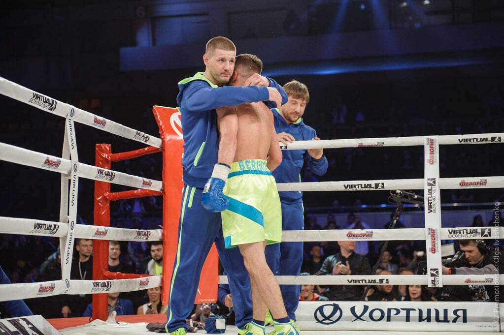 Беринчик добыл в Киеве яркую победу нокаутом