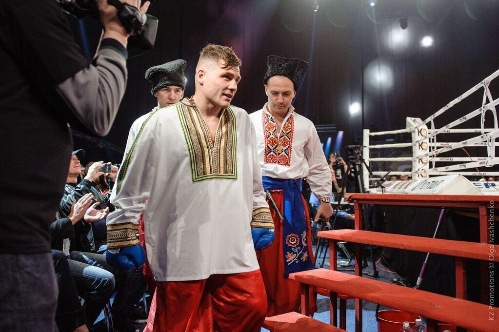 Украинский боксер произвел фурор патриотичным выходом на ринг