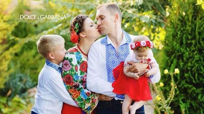 Дольче Габбана розпочали всесвітній флешмоб з українців у вишиванках: опубліковано фото
