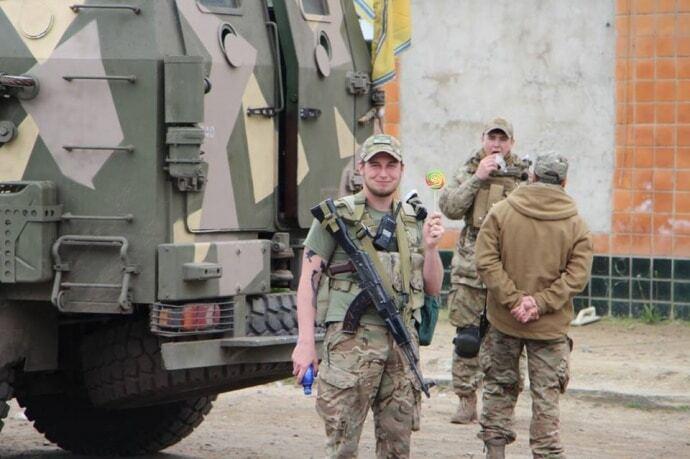 """Гроза сепаратистів і 300 """"азовців"""": бійці прибули захищати Одесу. Фоторепортаж"""