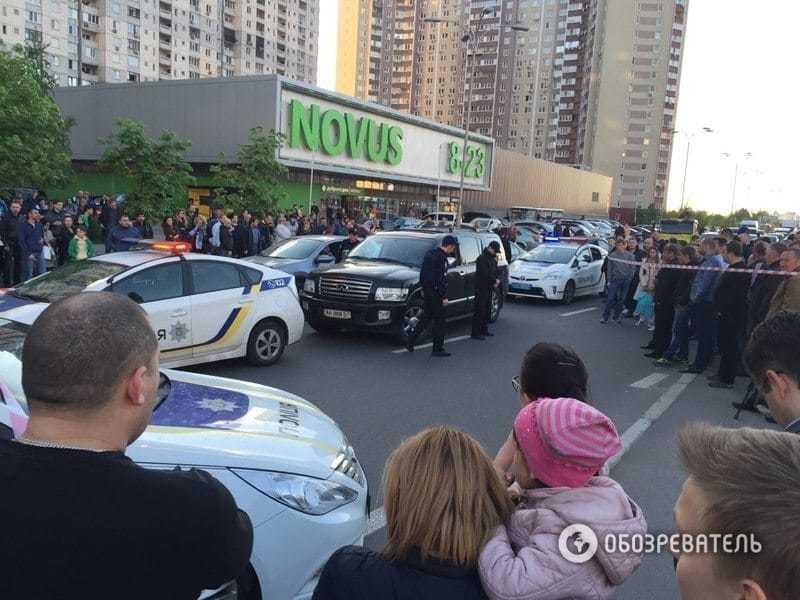 Погоня полиции за Infiniti в Киеве: стало известно, кем был водитель