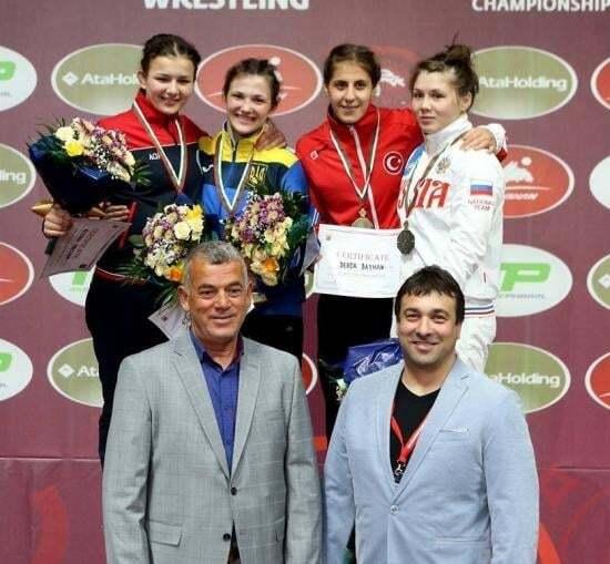 Cборная Украины выиграла чемпионат Европы по борьбе