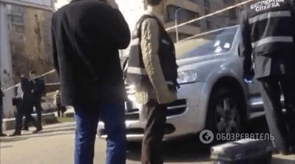 Убийство в Киеве: преступник скрылся на авто с краденными номерами