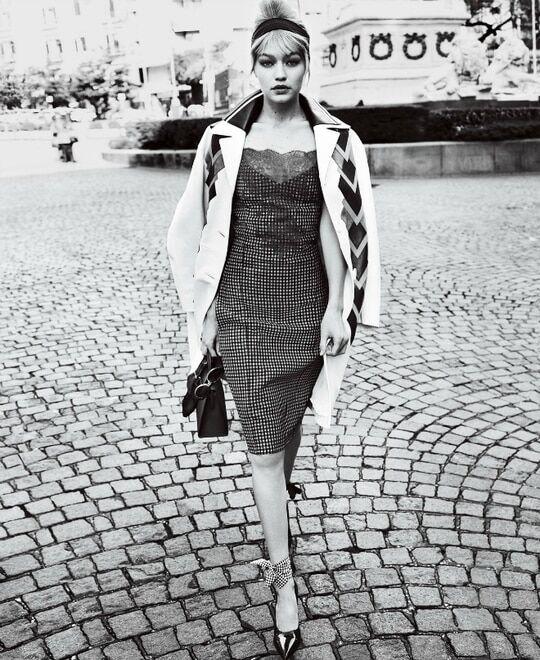 Влюбленные и сексуальные: Джиджи Хадид и Зейн Малик в съемке для Vogue
