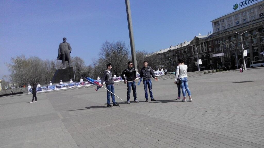 """Це просто свято якесь! Пушилін розповів """"громадянам ДНР"""" про """"фашистську честь"""". Фоторепортаж"""