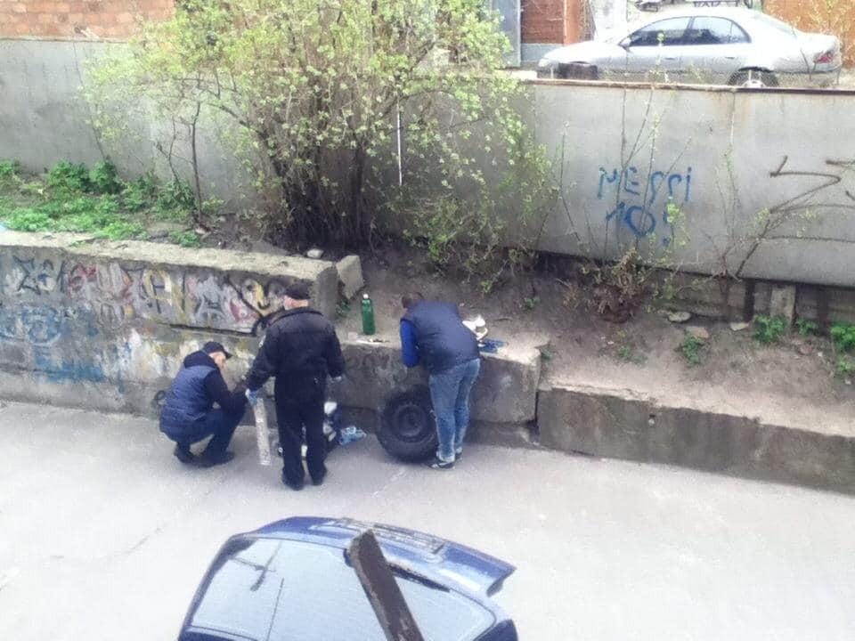Пытались поджечь: в Киеве нашли машину убийцы хозяина Kiev Sport Club