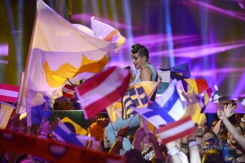 """Финка зажгла на """"Евровидении-2016"""" в несуразном наряде: опубликованы фото"""