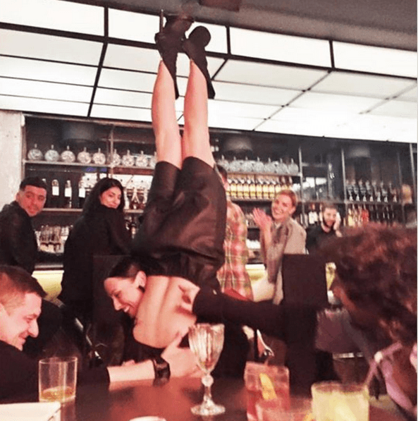 Даша Астафьева шокировала жителей Нью-Йорка развратным поведением