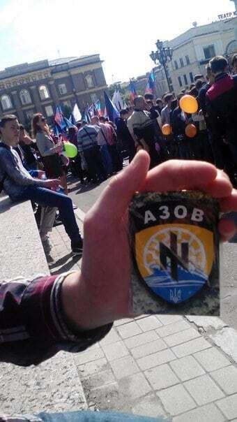 """Патріоти потролили терористів на параді в """"ДНР"""""""