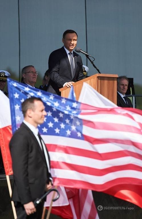 США начали строительство ракетной базы в Польше