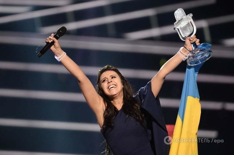 """Тріумф Джамали: Україна перемогла Росію на """"Євробаченні-2016"""" з піснею про Крим"""