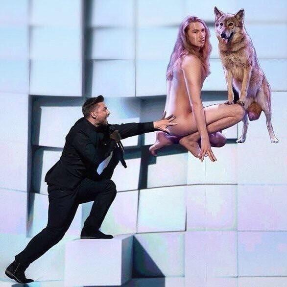 """""""Ти єдина"""": в мережі потролили фотожабами номер Лазарєва на """"Євробаченні-2016"""""""