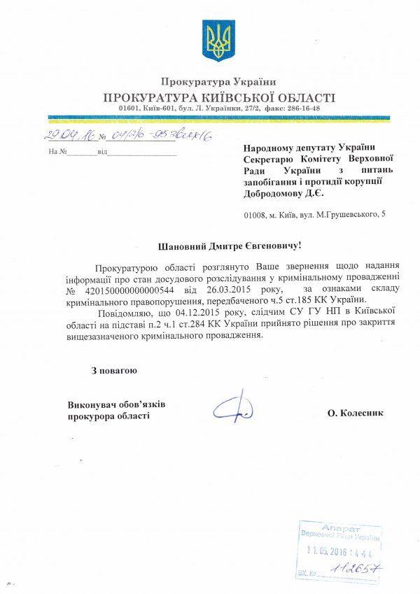 Прокуратура припинила шукати золотий батон Януковича
