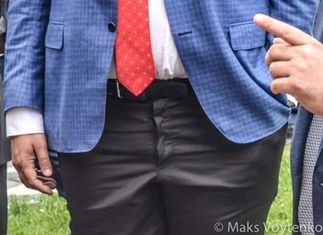 Гардероб модника Саакашвілі став причиною насмішок
