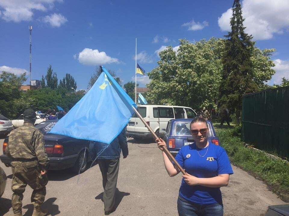 Кримські татари вшанували жертв депортації на кордоні з півостровом