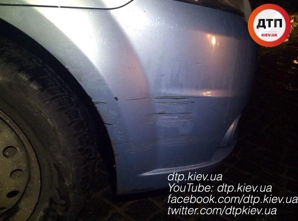 У Києві вночі поліція влаштувала погоню за п'яним водієм