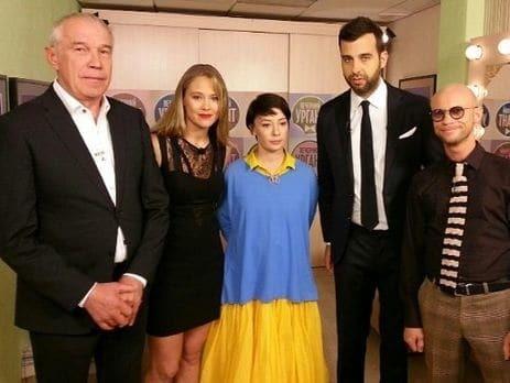 Скандал в ефірі: російську актрису звинуватили в підтримці України через вбрання