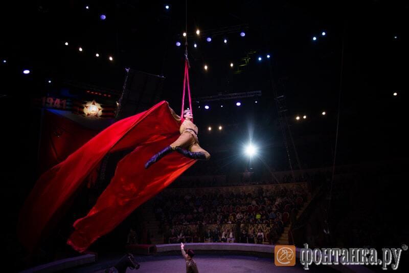 Не смешно: в России в цирке велась военная пропаганда