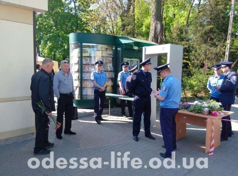 В Одессе дважды сообщали о минировании Куликова поля