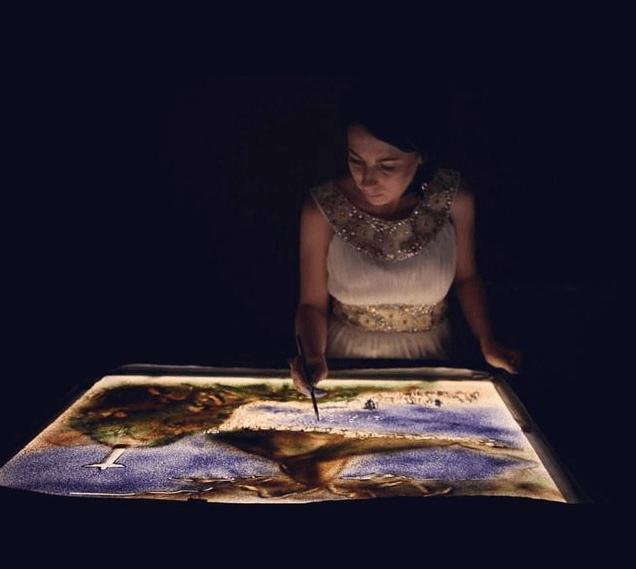 Истории из песка: харьковчанка покорила Европу потрясающей анимацией