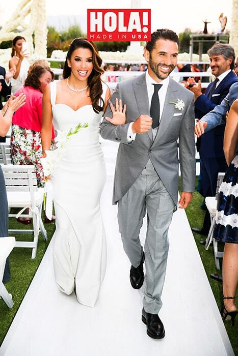 Ева Лонгория в третий раз вышла замуж: фото со свадьбы в Мексике