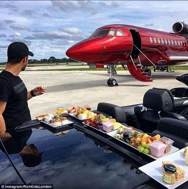 Купание в шампанском и частные самолеты: как живет богатая молодежь Лондона