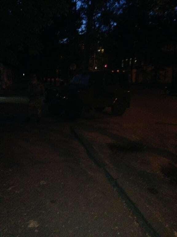 В Днепре по приказу офицера пытались вынести из госпиталя вещи для раненых