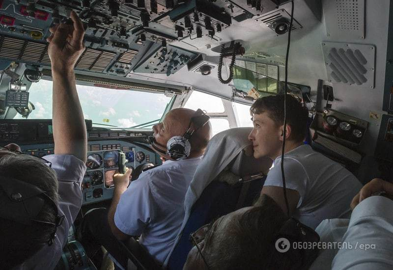 Савченко повернулася в Україну на улюбленому літаку Кучми