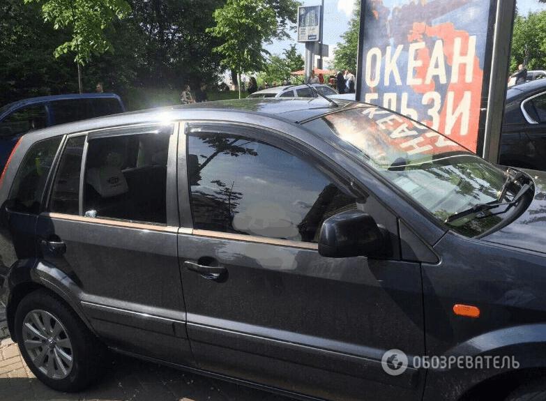 Біля банку в Києві у чоловіка вкрали сумку з 500 тисяч гривень