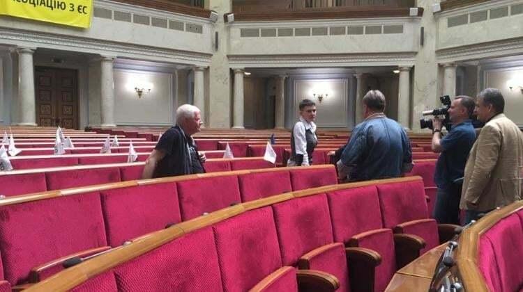 Місце роботи: Савченко вперше прийшла у Верховну Раду