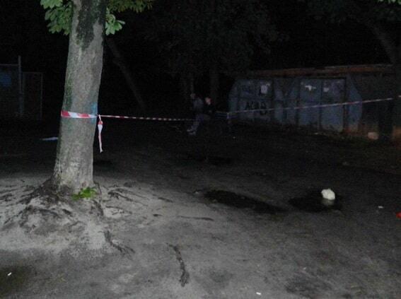 Расстрел мужчины в Киеве: появились фото с места убийства