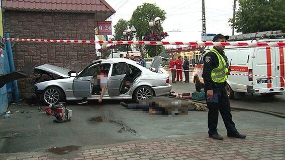 У Вінниці сталася страшна аварія: четверо загиблих