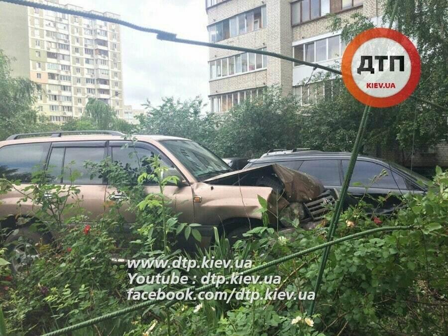 В Киеве пьяный судья устроил ДТП