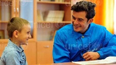 Орландо Блум в Украине: все подробности визита посла доброй воли