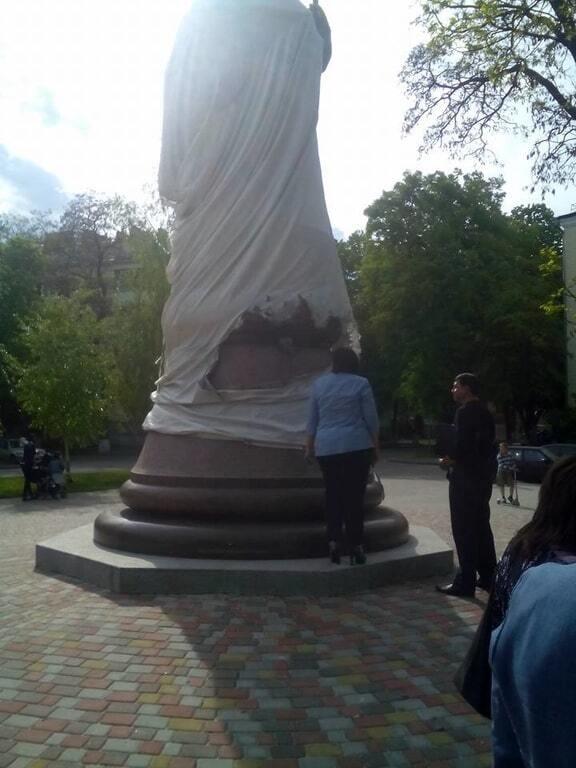 У Полтаві намагалися підірвати новий пам'ятник Мазепі