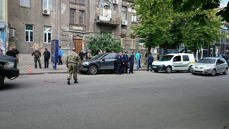Стрельба в Харькове: в ходе потасовки ранен полицейский