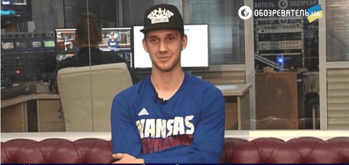 Украинский баскетболист Михайлюк: я переехал в Канзас в 17 лет, а меня там уже все узнавали